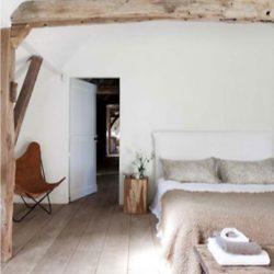 landelijke stijl slaapkamer