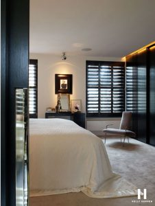 slaapkamer in moderne stijl
