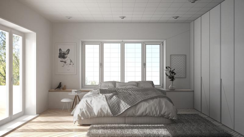 slaapkamer opruimen