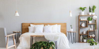 Een mooie slaapkamerinrichting geeft een lekkere frisse sfeer: eerste hulp bij inrichting!