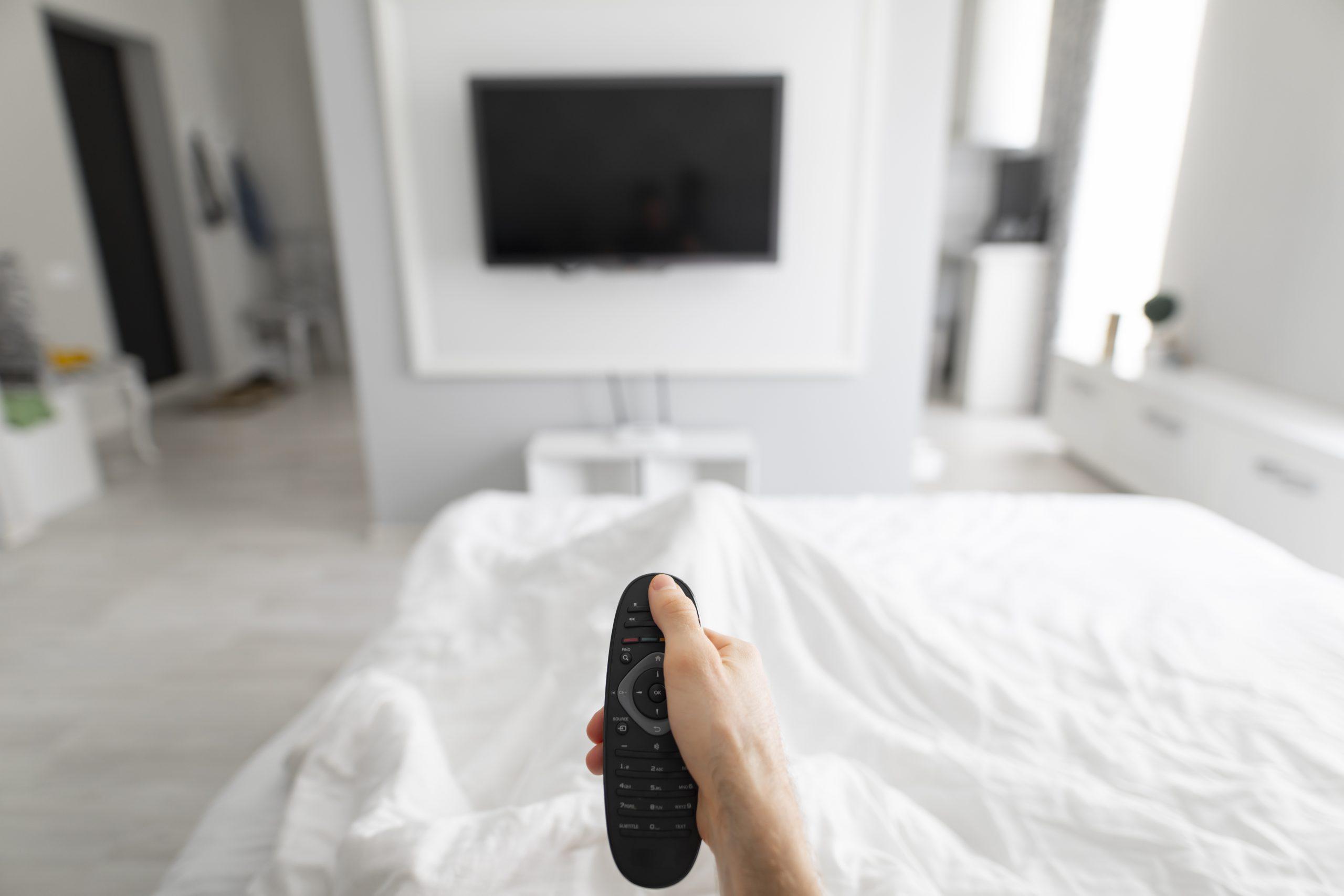 apparatuur in slaapkamer