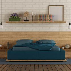 slaapkamer-wandplanken