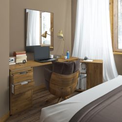 kantoor in de slaapkamer