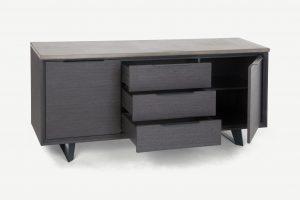 Zwarte-meubels-slaapkamer
