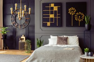 goud slaapkamer