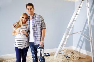 babykamer-verven-als-je-zwanger-bent