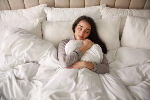 slapen met hoge temperaturen