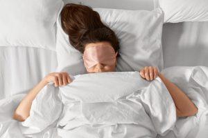 te warm om te slapen